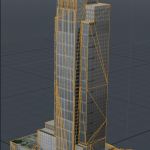 Building for city scape