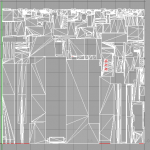UV map for single mesh of building