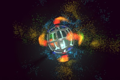 MODO701 audio particle system