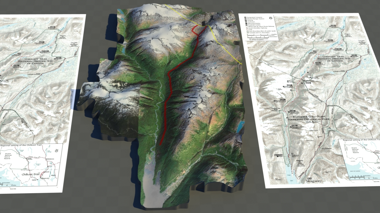 3D Maps and Geographic Documentary
