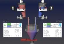 Mixing material controls