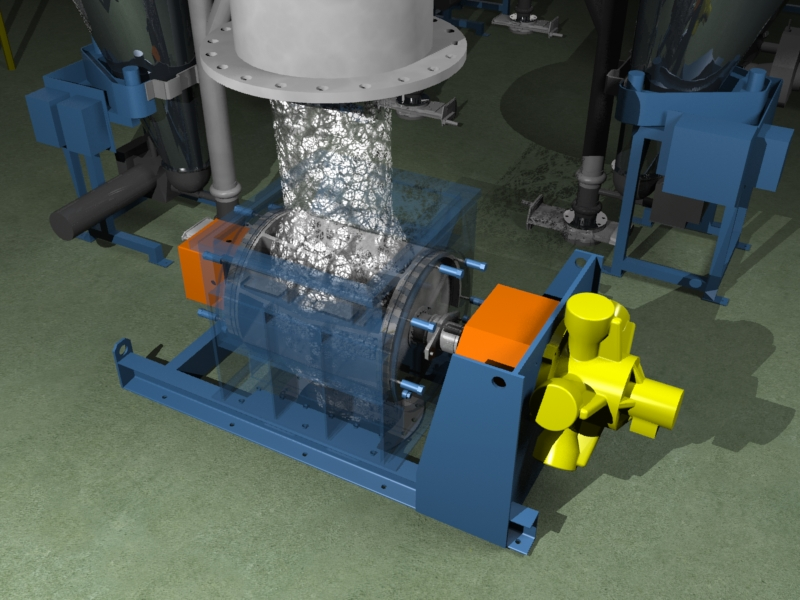 Particulate Crushing and Flow