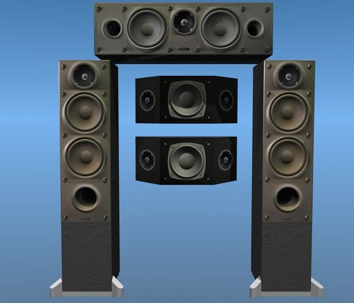 3D-004 Energy Speakers