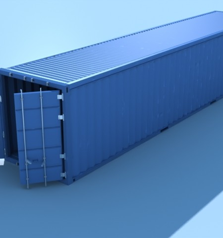 3D-012 Shipping Container