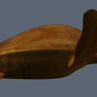 3D-015 Turtle Sculpture_Side