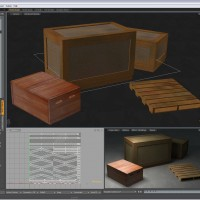 3D-016 Wooden Crates_object