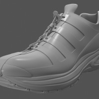 3D-024 Running Shoe_Shaded Model 02
