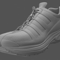 3D-024 Running Shoe_Shaded Model 03