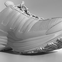 3D-024 Running Shoe_Shaded with Displacement