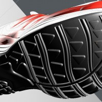 3D-024 Running Shoe_Tread Pattern