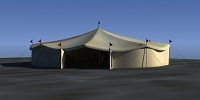 Carnival Tent - Render preview