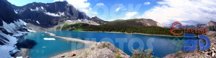 STK023_Rocky Mountain Flow Lake.444x119
