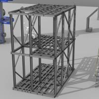 skid platform frame