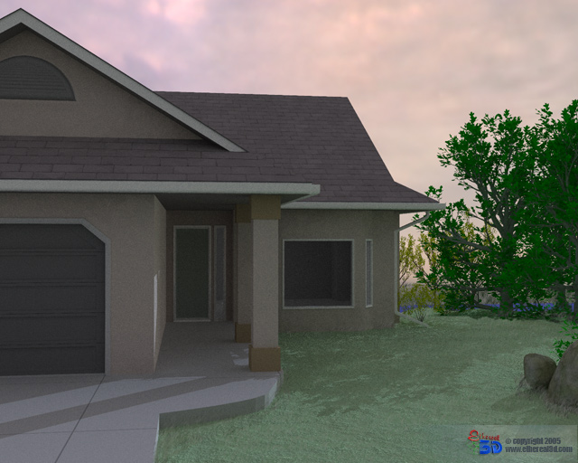 render house architecture