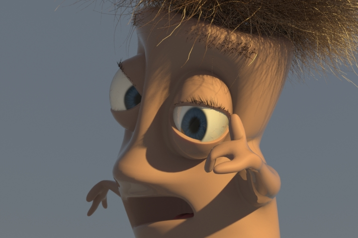 modo rigging character example