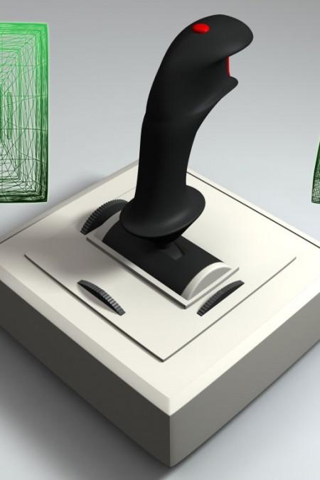 3D-002 Flightstick Joystick