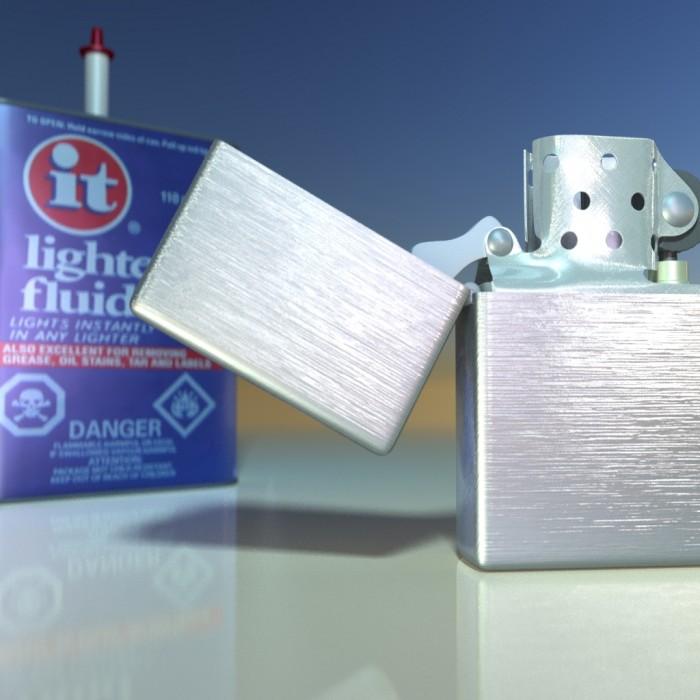 3D-010 Zippo Lighter