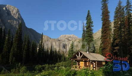 STK024_Rocky Mountain, Ranger Cabin.444x254