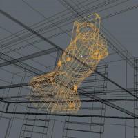Stage/Studio Spotlight 3D Model